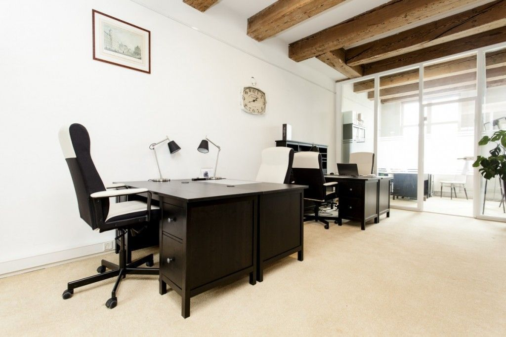 De werkruimte van Amsterdam Offices