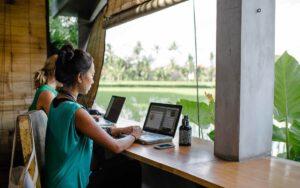 digital nomad work remote virtueel kantoor